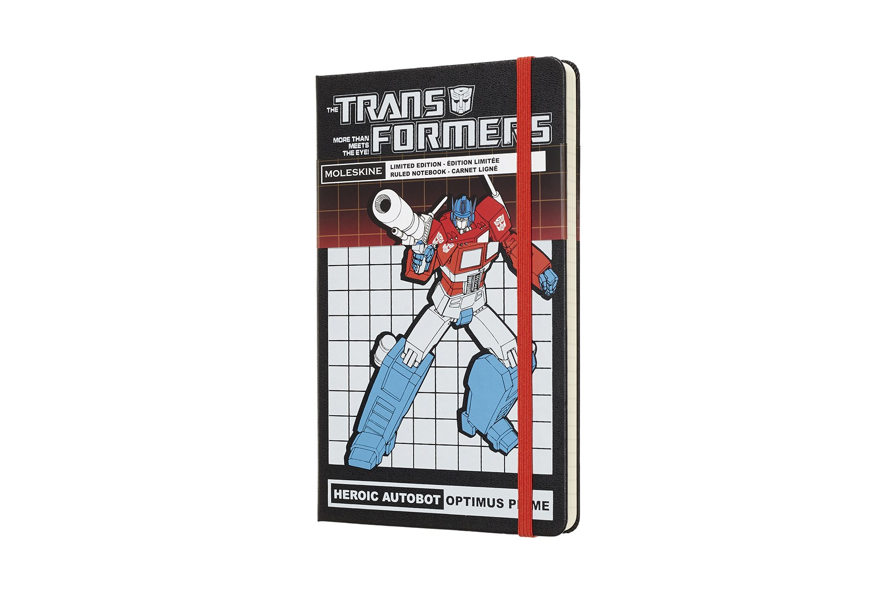 Moleskine Limited Edition Transformers Hard Cover Notebook,.