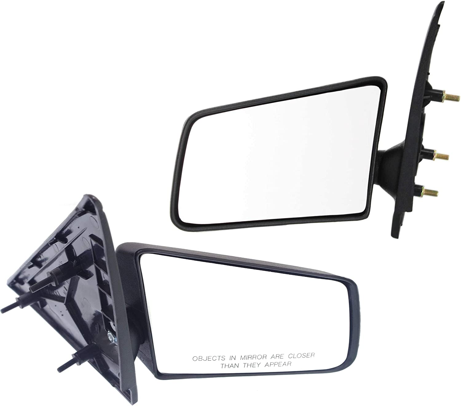 Partslink Number GM1320126 OE Replacement Chevrolet//GMC//Oldsmobile//Isuzu Driver Side Mirror Outside Rear View