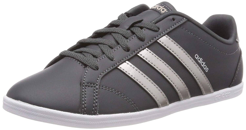 Grau (grau Six Platinum Met. Ftwr Weiß) Adidas Damen Coneo QT Fitnessschuhe