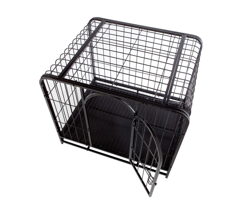 Catral Dino–Käfig für Tiere, 63x 74x 60cm, Schwarz