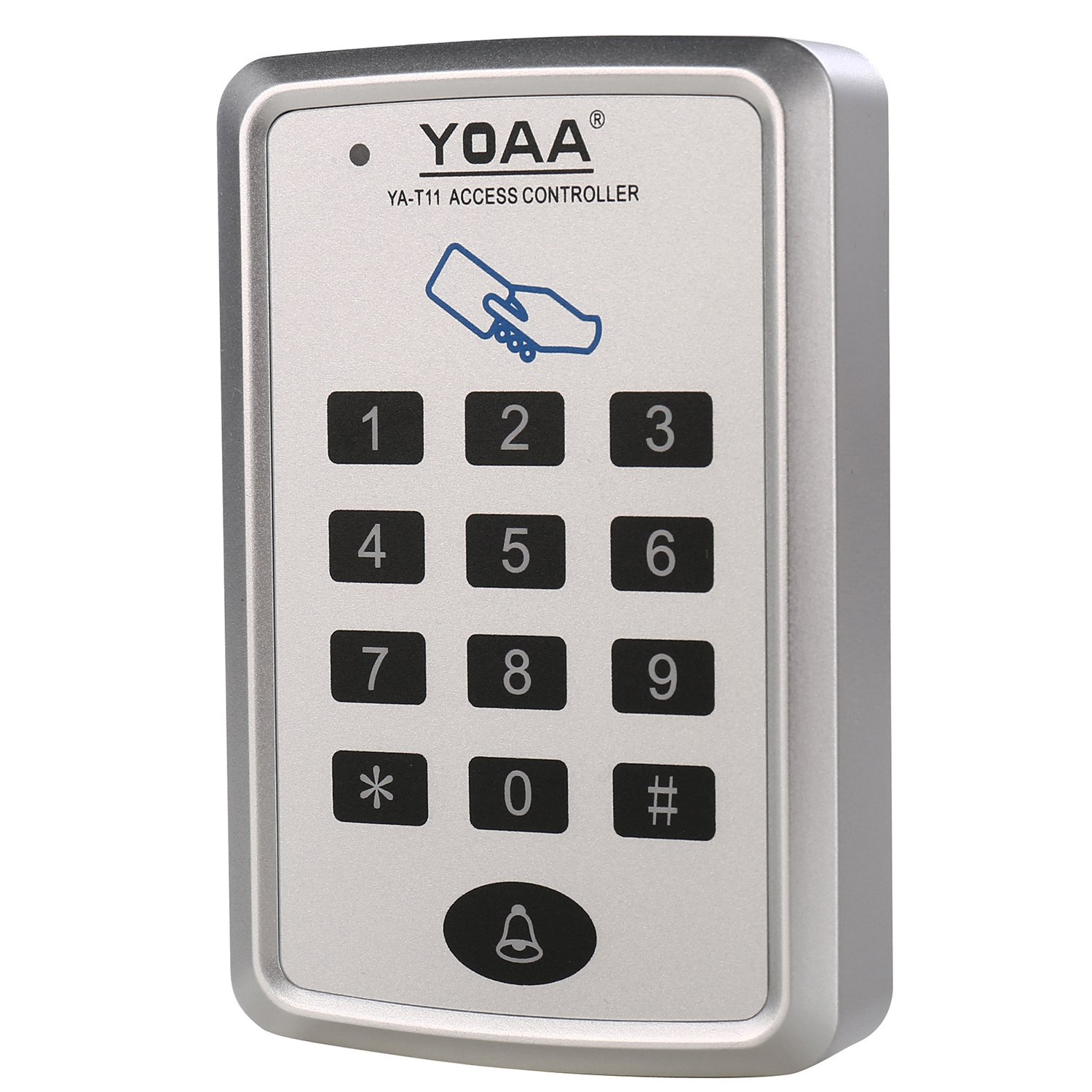 MATEE Access Control Keypad For Single Door With 1000 Users Built-in RFID 125kHz EM-ID Card Reader For Security System