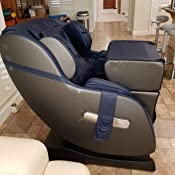 Amazon Com Real Relax 3d Massage Chair Recliner With Bluetooth Space Saver Body Scan Sl