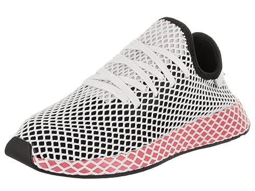official photos 3c0ba a2c1f Adidas CQ2909 - Zapatillas Deportivas Originales para Mujer, BlackBlack-Chalk  Pink,