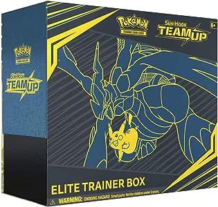 Pokemon Sun & Moon Team Up Elite Trainer Box, Multicolor