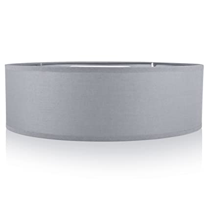 Smartwares 6000.539, Luz de Techo para Interior, Metal Plástico Tejido, Gris: Amazon.es: Iluminación
