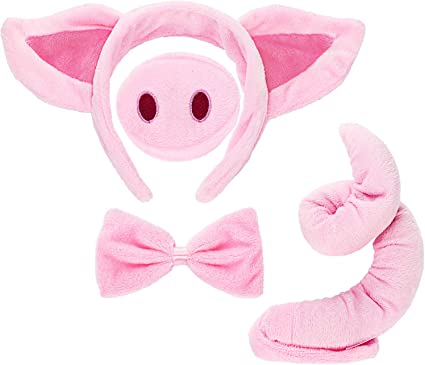 New Animal Pig Nose Costume Accessory