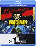 V for Vendetta/Watchmen/Constantine (Triple-Feature) [Blu-ray]