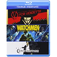 V for Vendetta & Watchmen & Constantine [Blu-ray] [Importado]