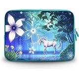 "CorlfulCase® 2014 New 11.6"" 12.1"" 12.2"" inch Notebook Carrying Bag Laptop Sleeve Case for Samsung Chromebook/Samsung Galaxy Tab Pro 12.2/DELL Latitude E6230 XT2 XPS Duo/ASUS B23 /HP 4230S 2560P/TOSHIBA U920T/intel Letexo - Unicorn sc12-62670"