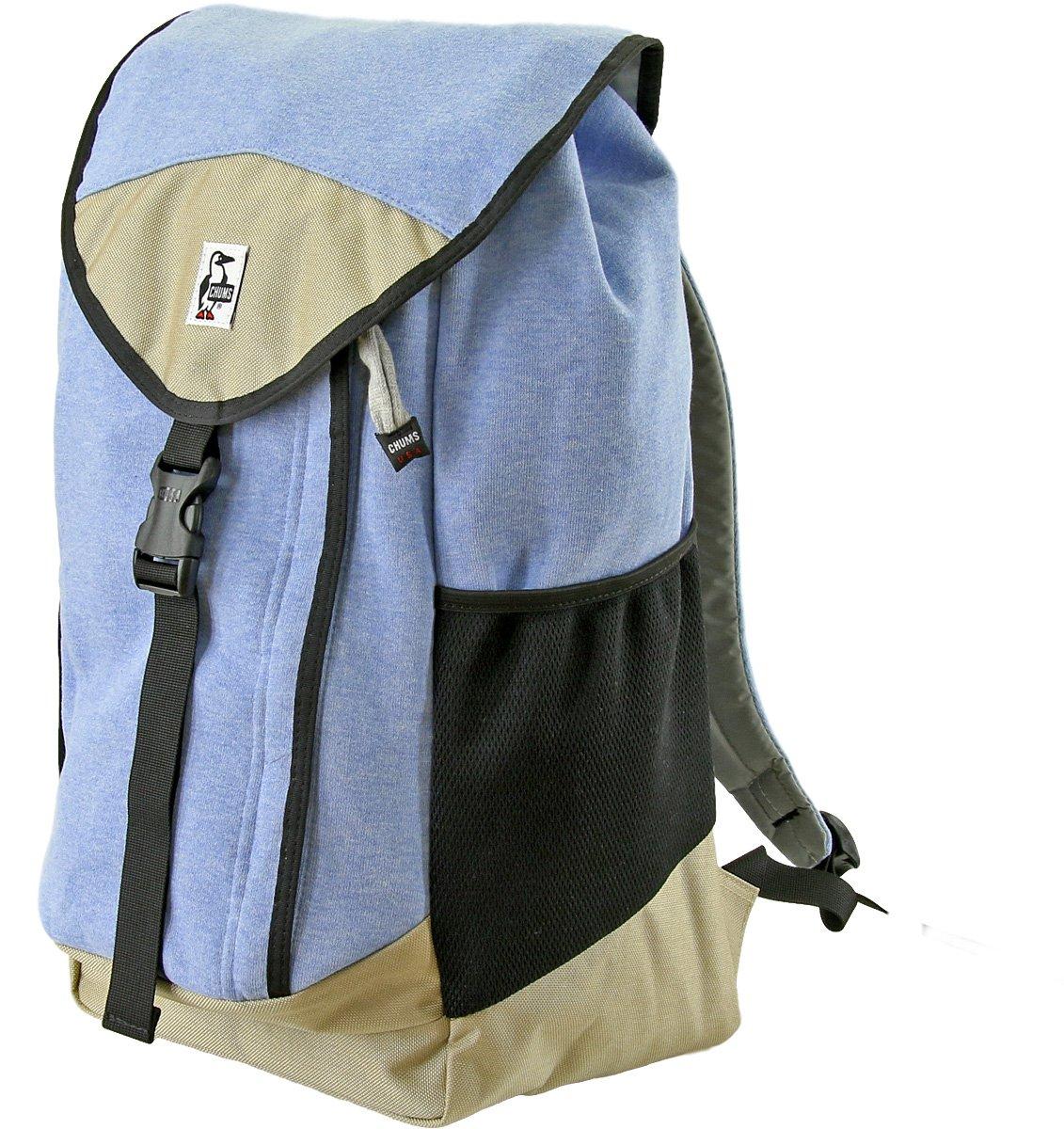 [チャムス] リュック Book Pack Sweat Nylon CH60-0680-A046-00 B01N9Z7BHE H-Sax/Beige-A046 H-Sax/Beige-A046