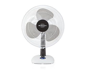 Orbegozo TF 0133 - Ventilador de sobremesa, oscilante, potencia 40 W, 3 velocidades