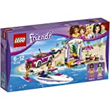 LEGO - 41316 - Friends - Jeu de Construction - Le transporteur de hors-bord d'Andrea