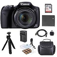 Canon Powershot SX530 HS 16MP Wi-Fi Super-Zoom Digital Camera 50x Optical Zoom +Accessory Bundle + Rtech Digital Cloth (International Model)