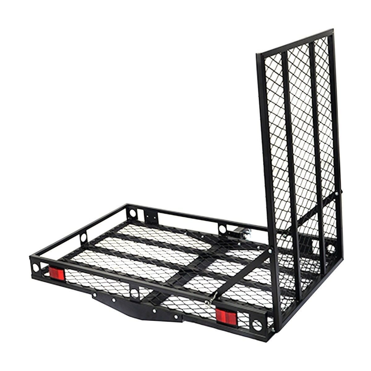 New 500lbs Strong Wheelchair Hitch Carrier Mobility Electric Scooter Loading Ramp