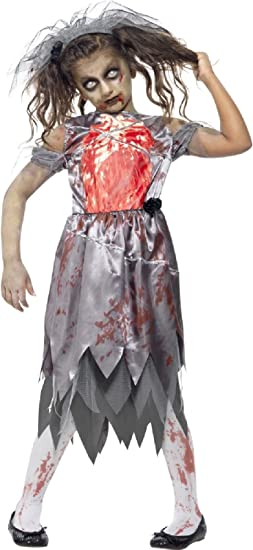 Halloween Adults Bloody Brides Costumes Girls Horror Zombie Fancy Dress Parties