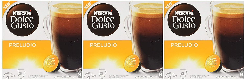 Nescafé Dolce Gusto Preludio, Café, Cápsulas, Grosse Café Taza porciones, 48 Cápsulas: Amazon.es: Alimentación y bebidas