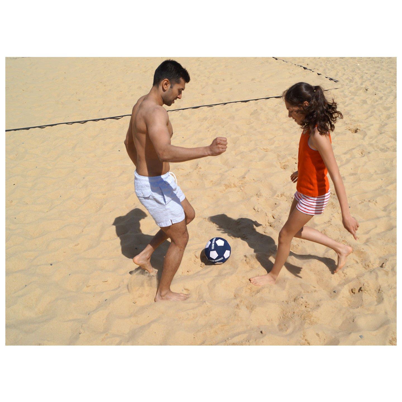 662e5730decc7 Team Magnus Balón de voleibol   balon de fútbol de neopreno para exterior -  pelota de volley playa   futbol infantil con interior de goma estándar  (Talla 5) ...