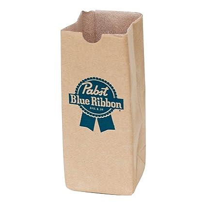 Amazoncom Pabst Blue Ribbon Paper Bag Can Bottle Cooler Sports