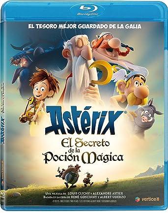 Asterix El Secreto De La Poción Mágica [Blu-ray]: Amazon.es: No Dsiponible, Louis Clichy, Alexandre Astier, No Dsiponible, Philipe Bony: Cine y Series TV