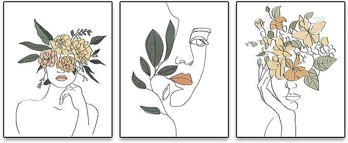 Cuadros Decoracion el Aula//Hogar Decoraci/ón Pared Habitaci/ón Beb/é Juego de 4 P/ósters en Lienzo Sin Marco Arte de Pared de Guarder/ía Cuadros de Pared Colores con Arco Iris y Sol