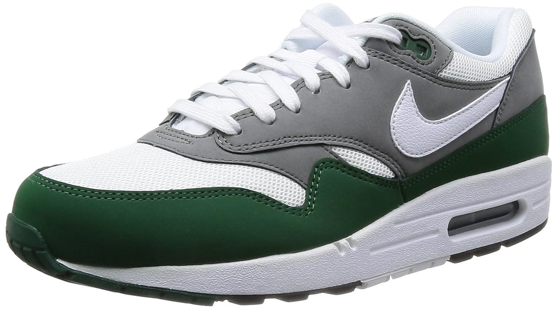 Iniciativa Percepción Investigación  Buy Nike Mens Air Max 1 Essential White/Mercury Grey/Gorge Green/White  537383-112 8.5 at Amazon.in