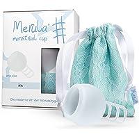 Merula Cup ice (transparent) - One size Menstruationstasse aus medizinischem Silikon
