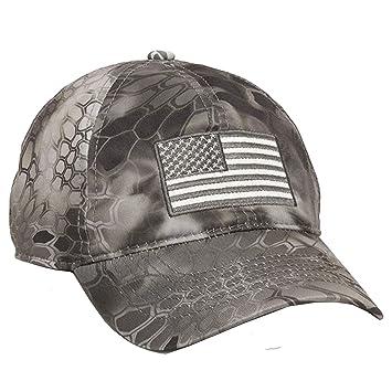 1264c7efe73 Kryptek Raid Hat Snakeskin Camo Hunting Cap  Amazon.co.uk  Sports   Outdoors