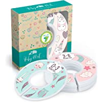 Baby Closet Dividers Set of 7 Fantasy Unicorns and Animals Dividers for Nursery Cloth Organization Sized from Newborn to 24 Months