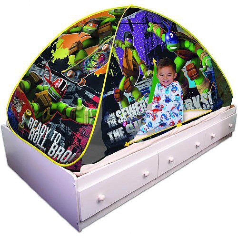 Amazon.com Playhut Teenage Mutant Ninja Turtles Bed Tent Playhouse Toys u0026 Games  sc 1 st  Amazon.com & Amazon.com: Playhut Teenage Mutant Ninja Turtles Bed Tent ...