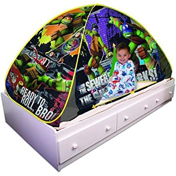 Playhut Teenage Mutant Ninja Turtles Bed Tent Playhouse  sc 1 st  Amazon.com & Amazon.com: Playhut Teenage Mutant Ninja Turtles Bed Tent ...