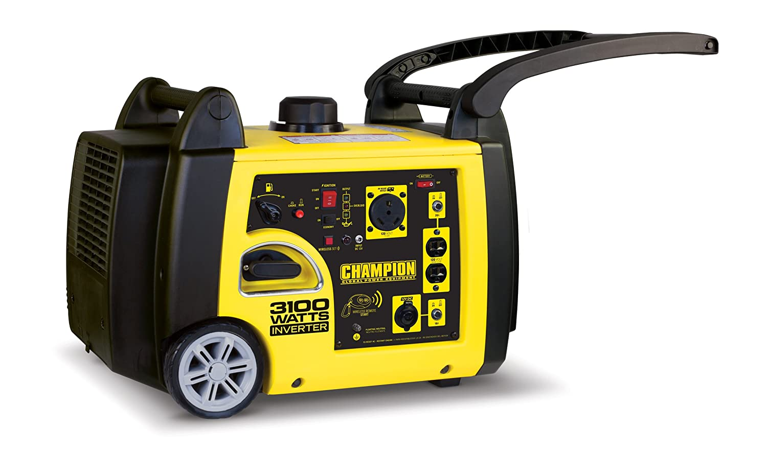 RV Ready Portable Inverter Generator with Wireless Remote Start