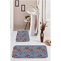 Kozzy Home Dijital Baskılı 2'Li Banyo Takımı, Rfe9503