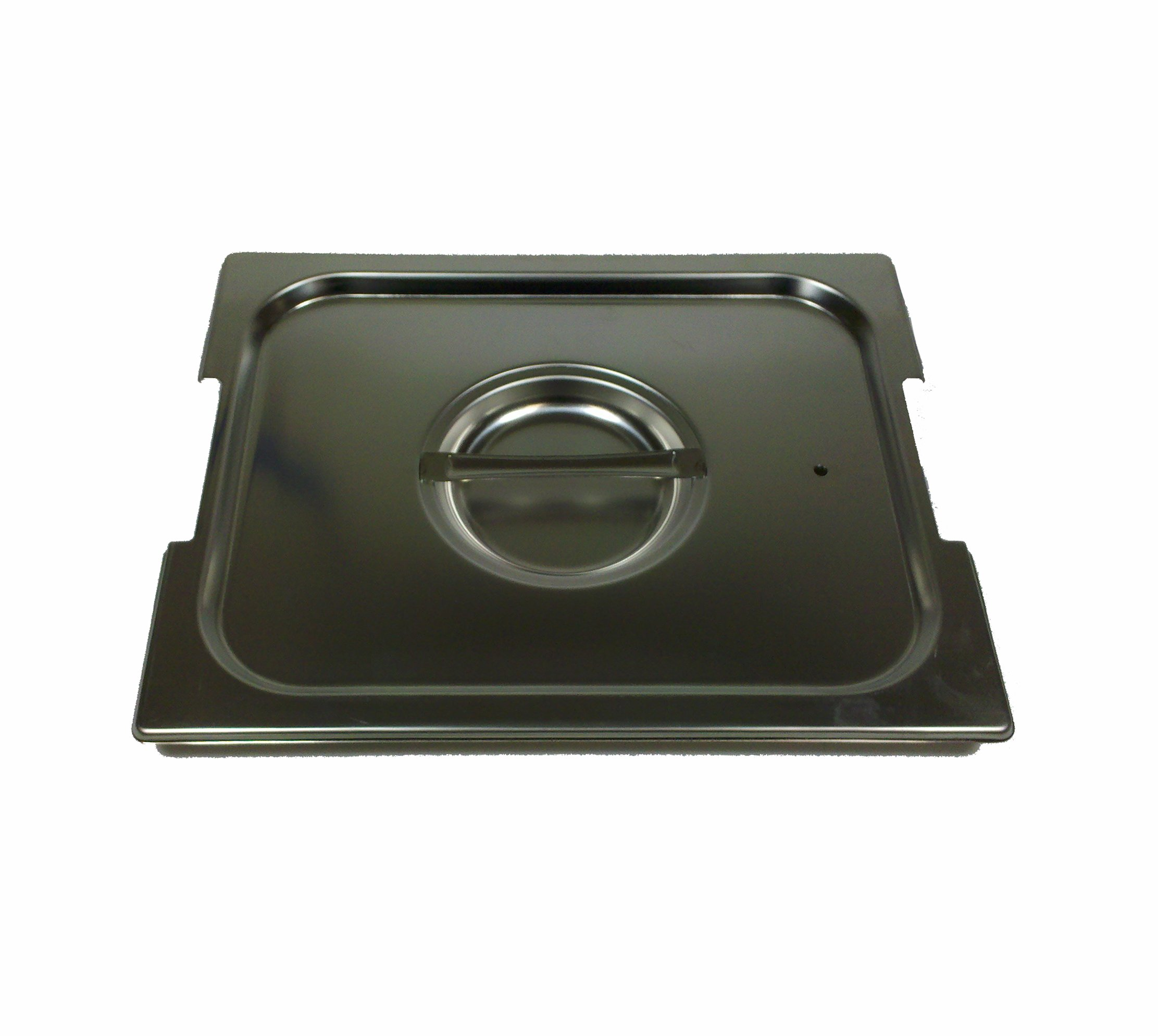 Paderno World Cuisine 20 7/8 inches by 12 3/4 inches Stainless-steel Handled Lid for Hotel Pan - 1/1