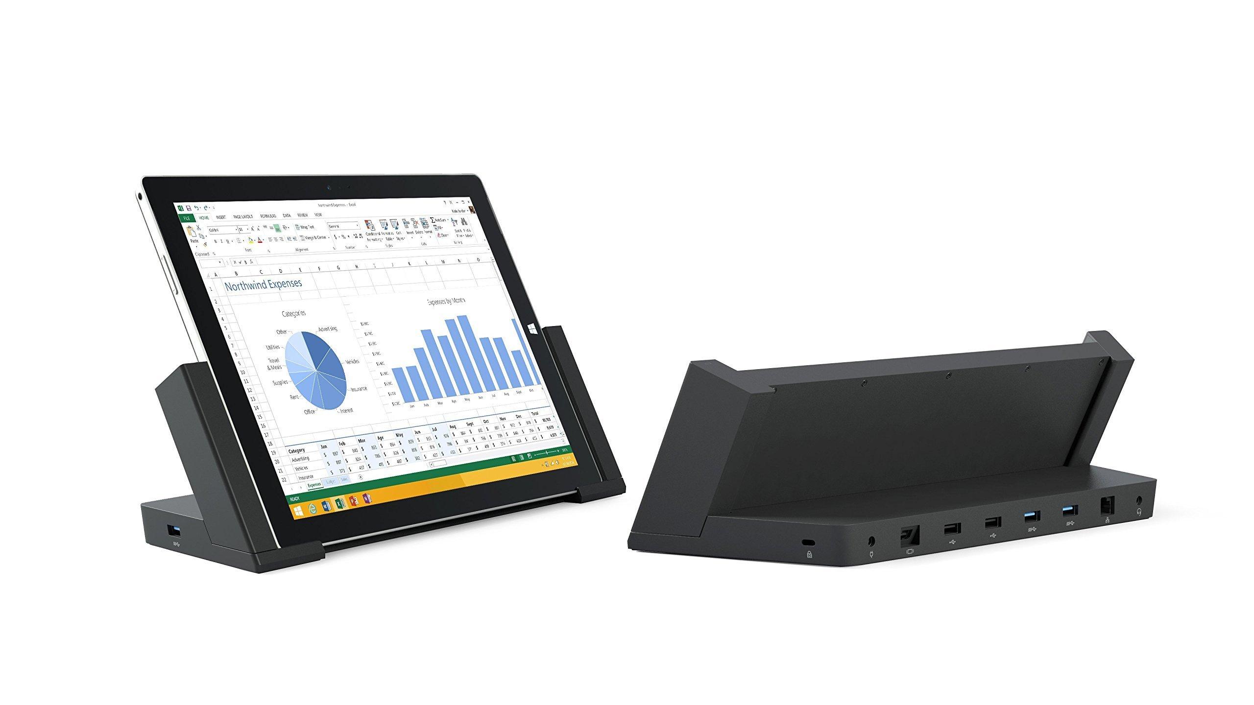 Microsoft Docking Station for Surface Pro 3 3Q9-00001 (Renewed) by Microsoft (Image #3)