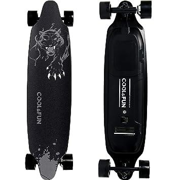 Skateboard Longboard Eléctrico de 4 Ruedas con Motor Inteligente Skateboard y Control Remoto