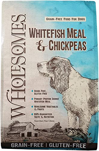 Wholesomes Whitefish Meal Chickpeas Grain-Free Dry Dog Food