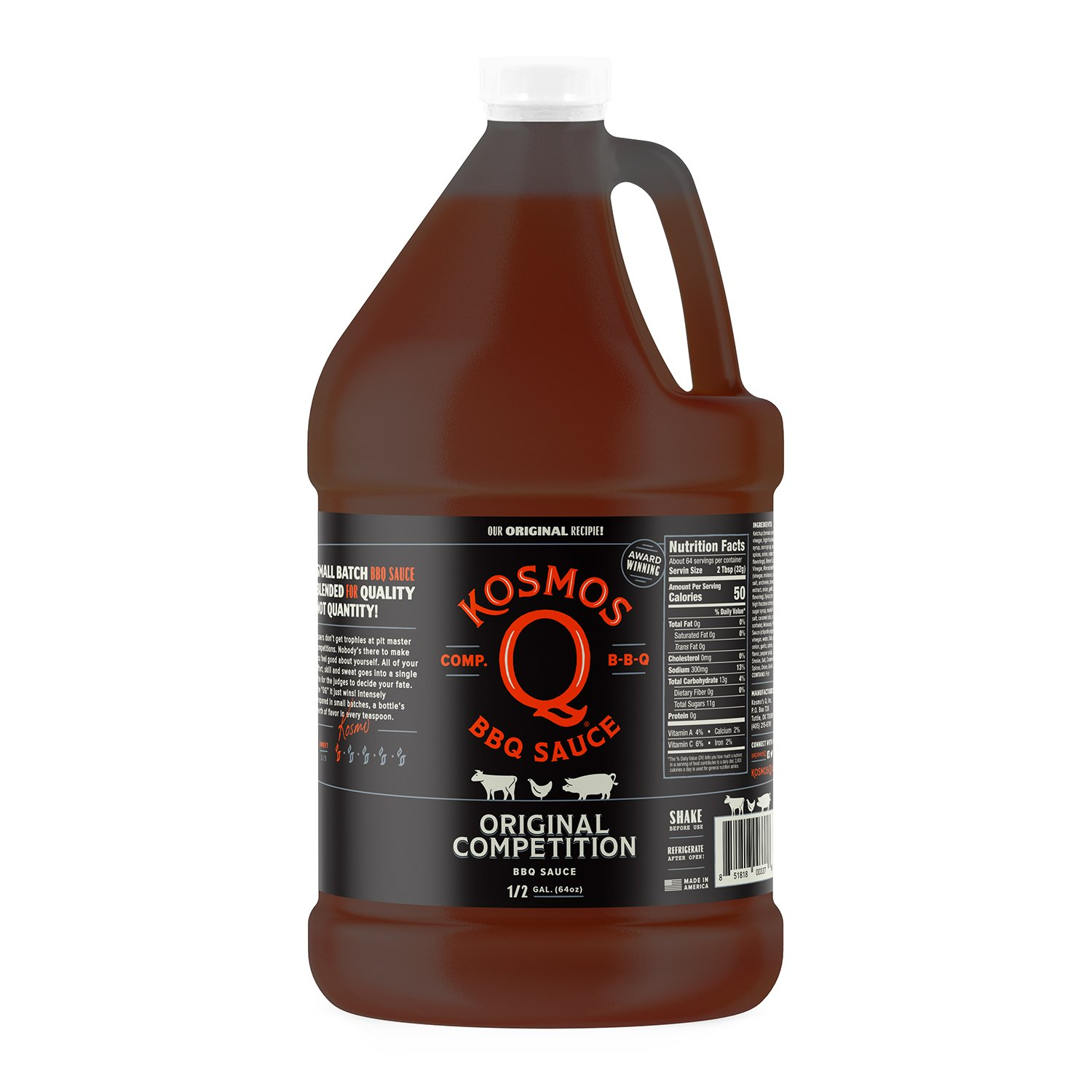 Amazon kosmos q sweet apple chipotle bbq sauce half gallon amazon kosmos q sweet apple chipotle bbq sauce half gallon best barbeque sauce gluten free grocery gourmet food solutioingenieria Image collections
