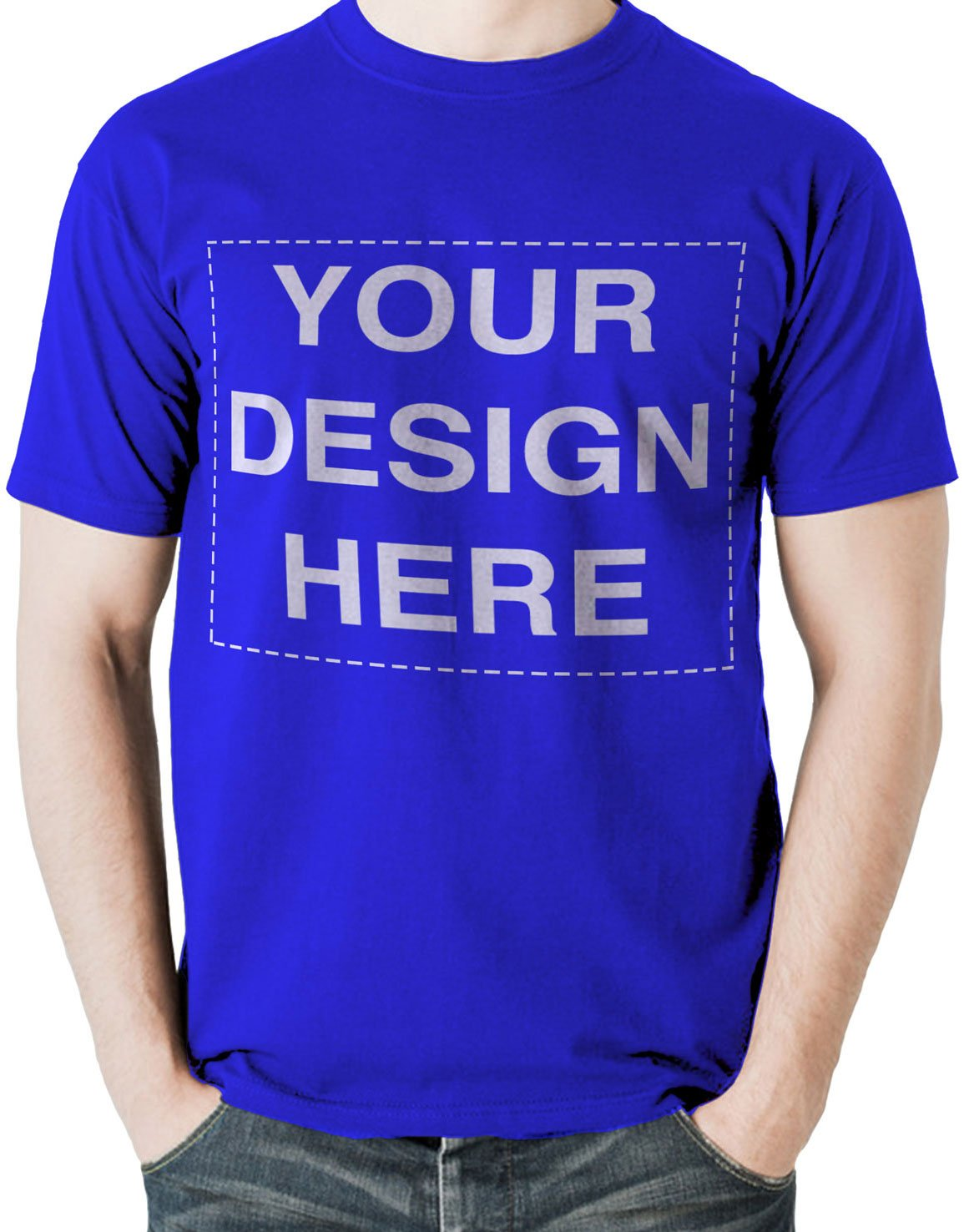 c0993bf962eb1 Custom Tshirts Design Your Own Text or Image Adult Unisex T-Shirt ...