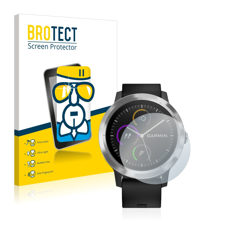 BROTECT Protector Pantalla Cristal para Garmin Vivoactive 3: Amazon.es: Electrónica
