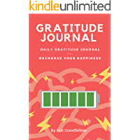 Gratitude Journal: Daily Gratitude Journal - Recharge Your Happiness