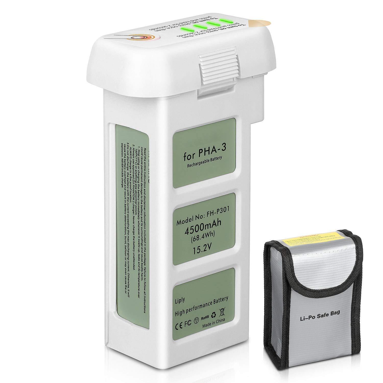 ENEGON Batería de Repuesto Lipo Vuelo Inteligente 4500mAh 15.2V ...