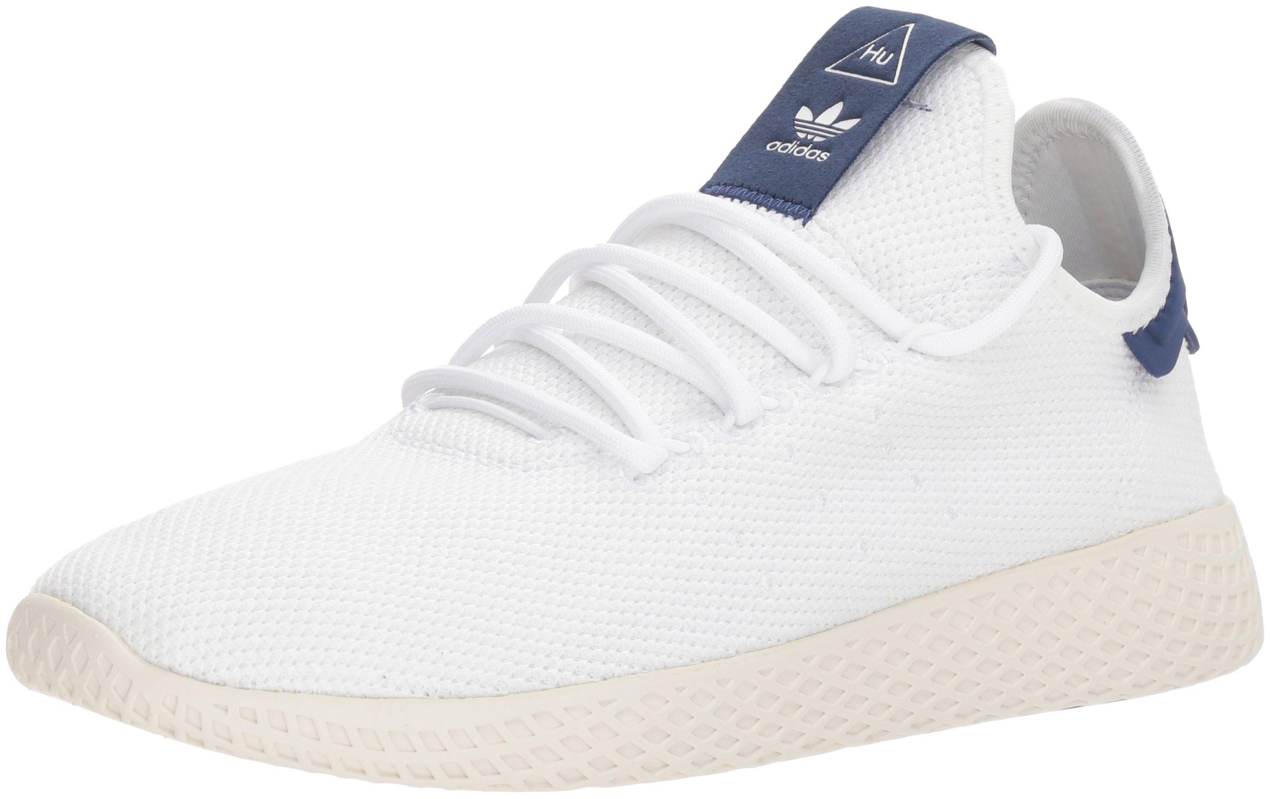adidas Women's PW Tennis hu W Sneaker, Ftwr White, Ftwr White, chalk White, 8.5 M US