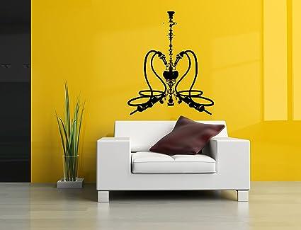 Amazon.com: Vinyl Sticker Decal Wall Decor Poster Art Shisha Hookah ...