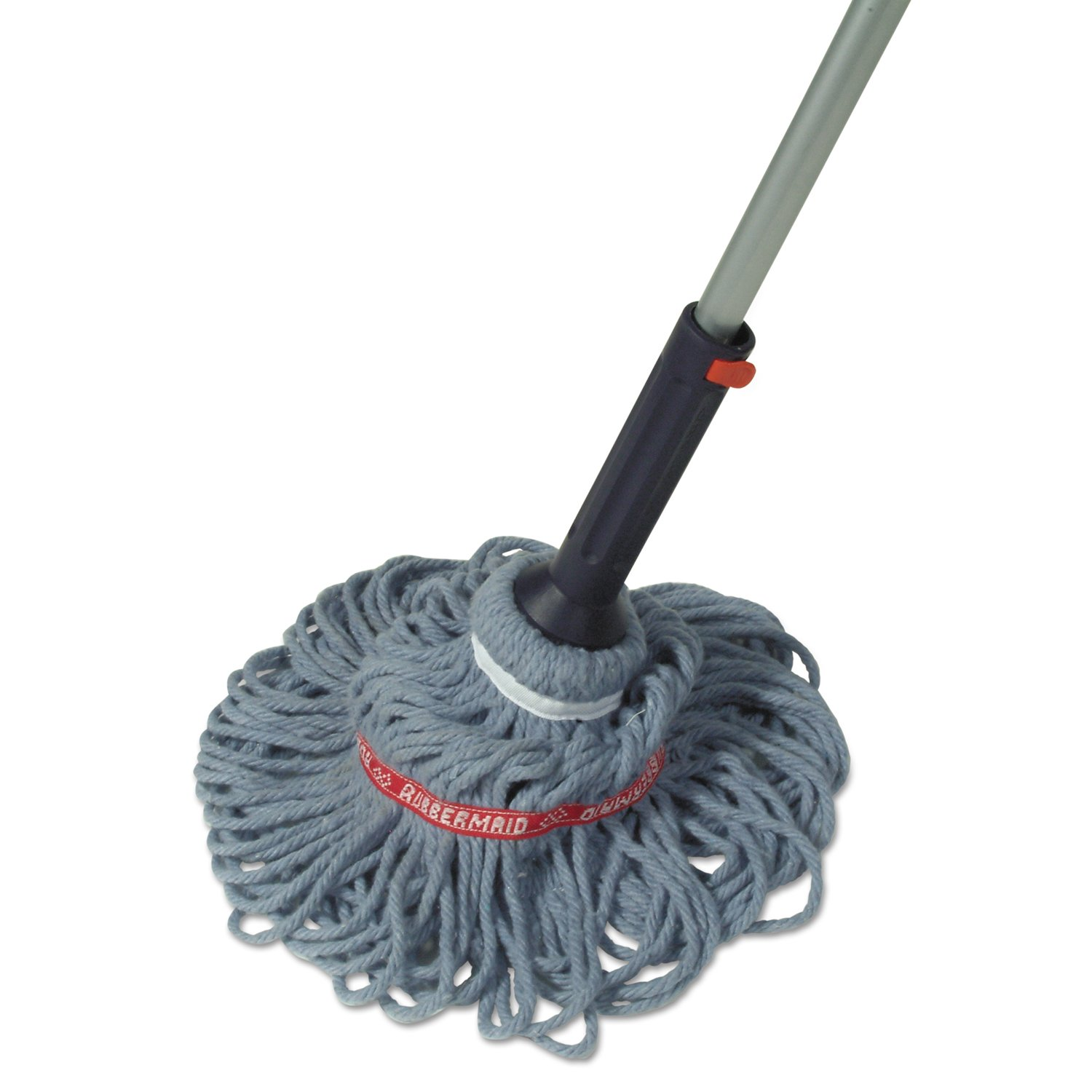1818664 Rubbermaid Self-Wringing Ratchet Twist Mop with Blended Yarn Head 54-inch