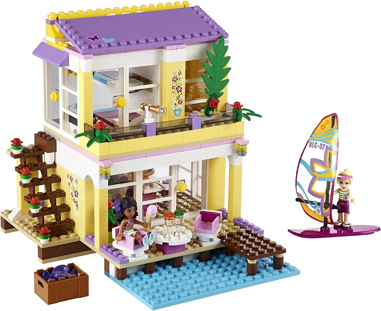 Lego Friends 41037 Jeu De Construction La Villa Sur La Plage