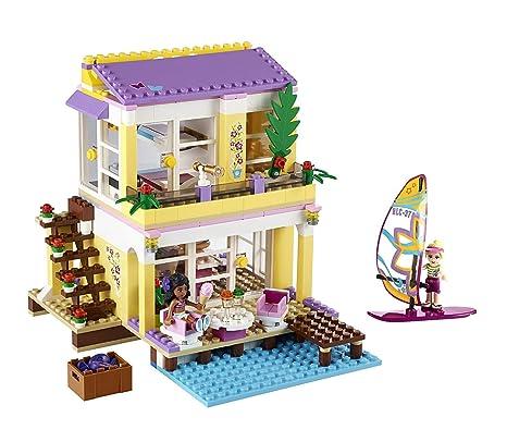 Lego Friends 41037 Stephanies Beach House Amazoncouk Toys Games