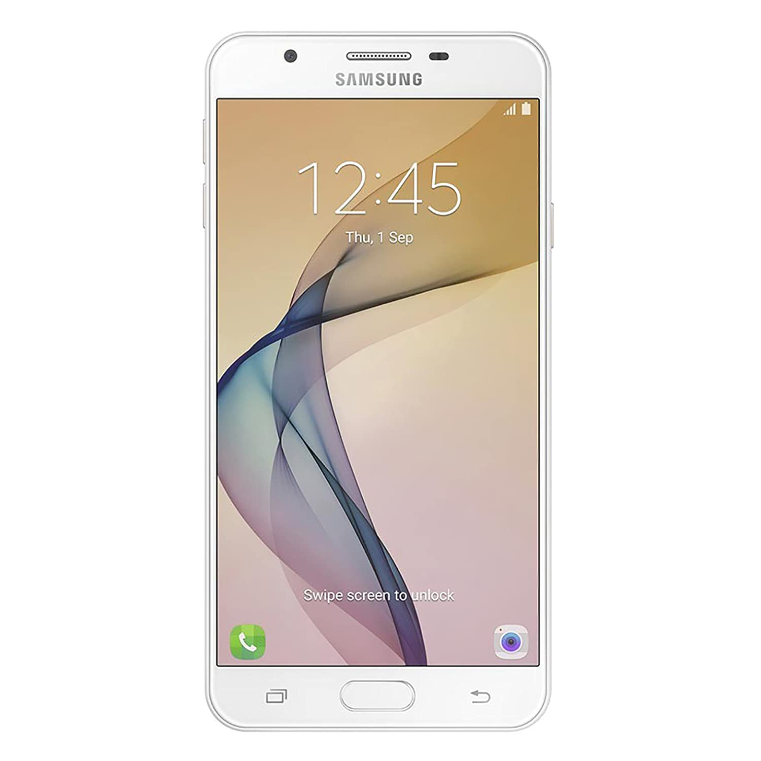53bfeff8b Amazon.com  Samsung Galaxy J7 Prime Factory Unlocked Phone Dual Sim - 16GB  - White Gold  Cell Phones   Accessories