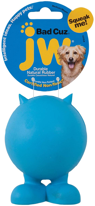 JW Pet Company Bad Cuz Dog Toy, assorted colors,Medium