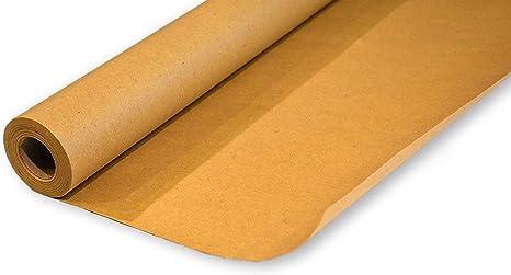 Kraft rollo de papel de regalo | reciclar y biodegradable de papel ...