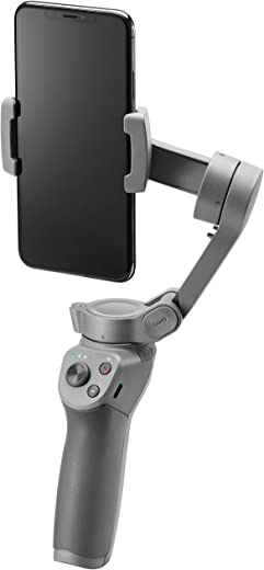 DJI Osmo Mobile 3 - Foldable Mobile Gimbal, 3-Axis Gimbal, Dynamic Design, Foldable Fun, Portable and Light, Standby Mode, Sport Mode, Story Mode, Gesture Control, Quick Roll
